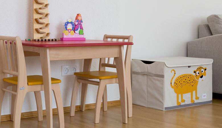 Wartebereich für Kinder in der Frauenarztpraxis Dr. Graf und Dr. Frick in München-Obermenzing