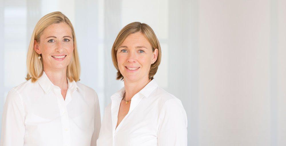 Dr. Myriam Graf und Dr. Frauke Frick, Ärztinnen für Frauenheilkunde & Geburtshilfe