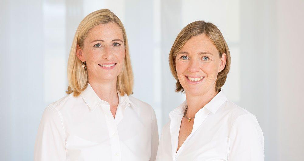 Frauenärztin Dr. Myriam Graf und Frauenärztin Dr. Frauke Frick