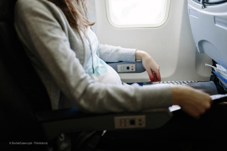 Fliegen in der Schwangerschaft