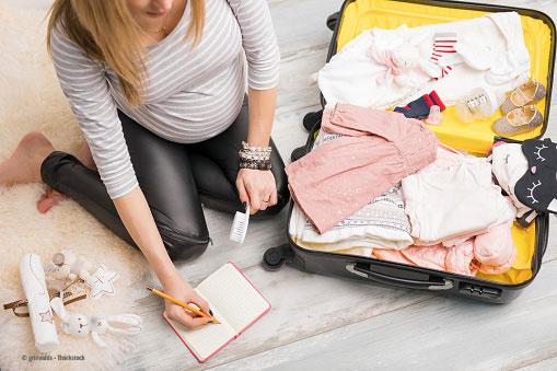 Packliste für die Geburtsklinik